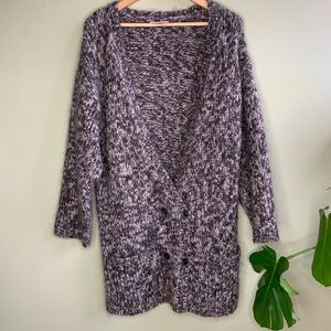 UO Carin Wester Mohair Double Botton Sweater